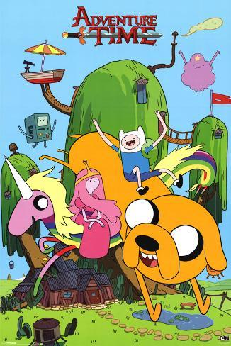 Adventure Time-House 25 Poster