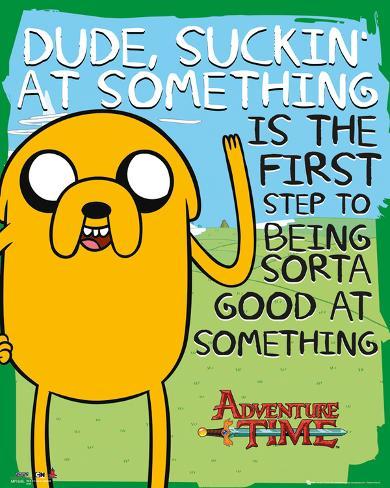 Adventure Time Suckin Mini Poster