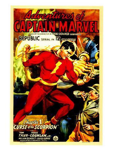 Adventures of Captain Marvel, 1941 Art Print