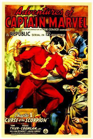 Adventures of Captain Marvel Masterprint
