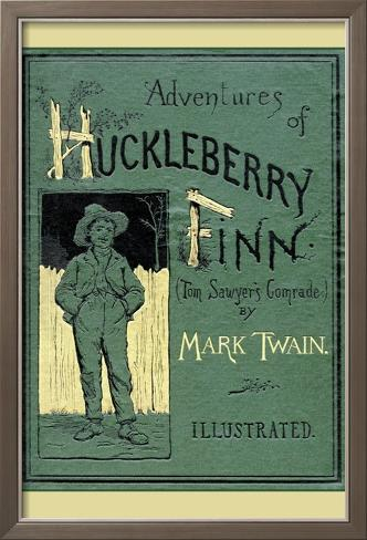 Adventures of Huckleberry Finn Framed Art Print
