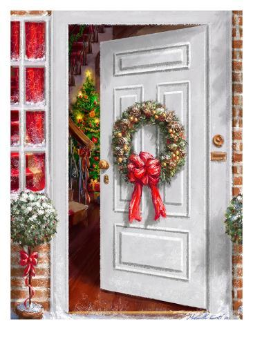 Home Holiday Entrance Taidevedos