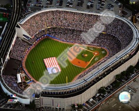 Aerial view of Yankee Stadium - 2008 MLB All-Star Game Photo
