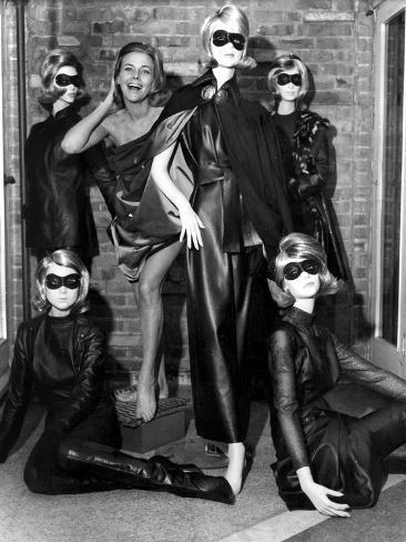 Aeries the Avengers with Honor Blackman, as Cathy Gale October 29, 1963 Photo