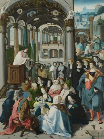 Calling of Saint Anthony Art Print
