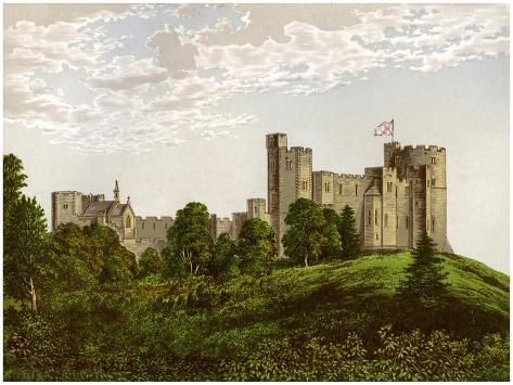 Peckforton Castle, Cheshire, Home of Baron Tollemache, C1880 Giclee Print