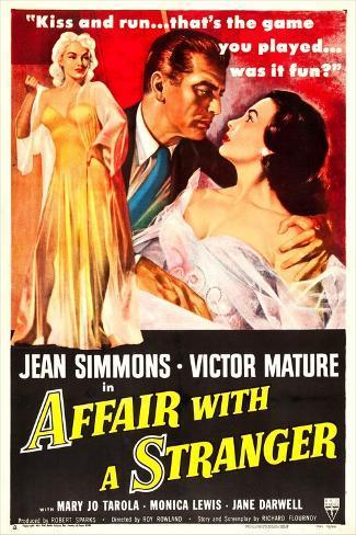 Affair with a Stranger Konstprint