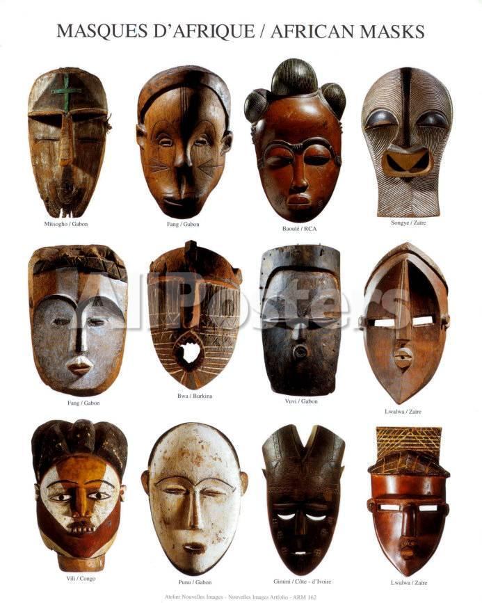 african masks prints at allposters com
