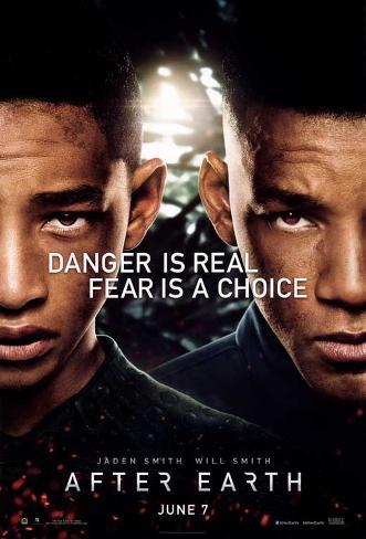 After Earth (Jaden Smith, David Deneman, Will Smith) Movie Poster Stampa master