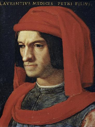 Portrait of Lorenzo the Magnificent Giclee Print