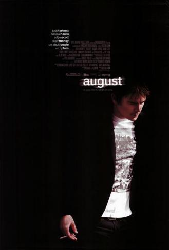 Agosto Pôster