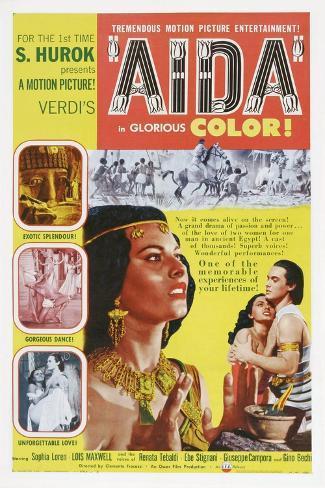 Aida Art Print