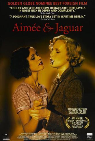 Aimee and Jaguar Poster
