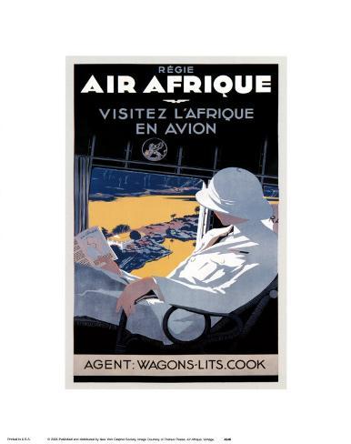 Air Afrique Art Print