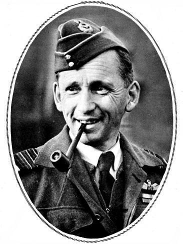 Air Chief-Marshal Sir Arthur Tedder (1890-1967) Stretched Canvas Print