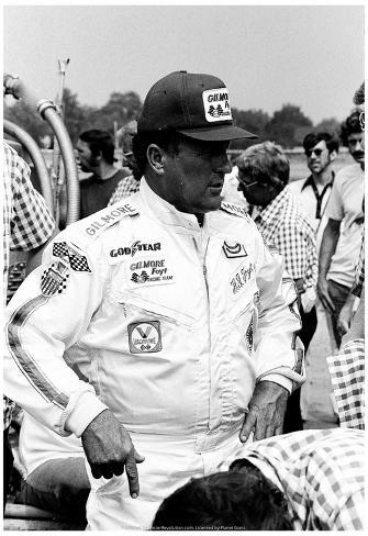 AJ Foyt 1976 Archival Photo Poster Poster