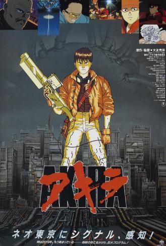Akira - Japanese Style Poster