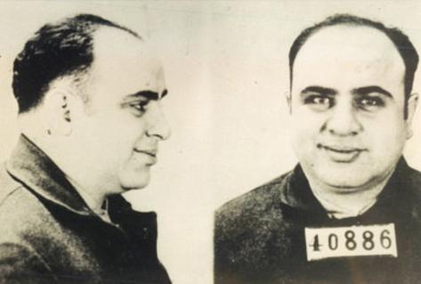 Al Capone Mug Shot Archival Photo Poster Print Masterprint