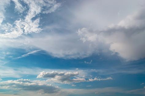 Dramatic Clouds Photographic Print