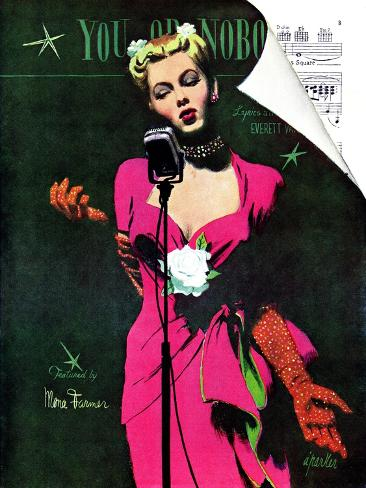 The Muses Is My Racket  - Saturday Evening Post
