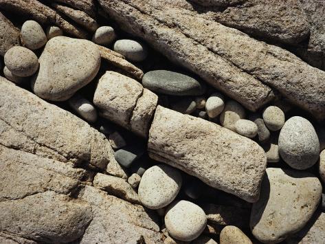 Beach Stones Photographic Print