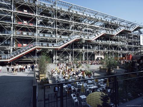 Pompidou Centre, Paris, France Photographic Print