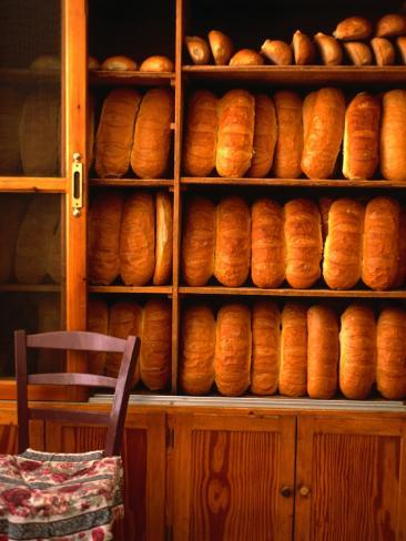 Bread Shop, Hania, Crete,Greece Photographic Print