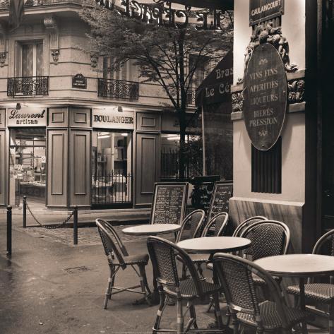Café, Montmartre Art Print
