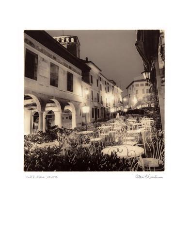 Caffe, Asolo, Veneto Art Print