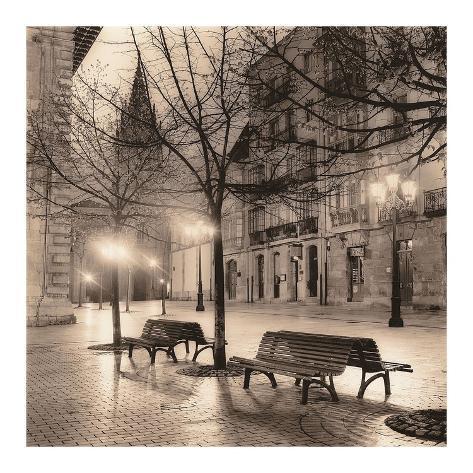 Plaza de porlier oviedo prints by alan blaustein for Studio 54 oviedo
