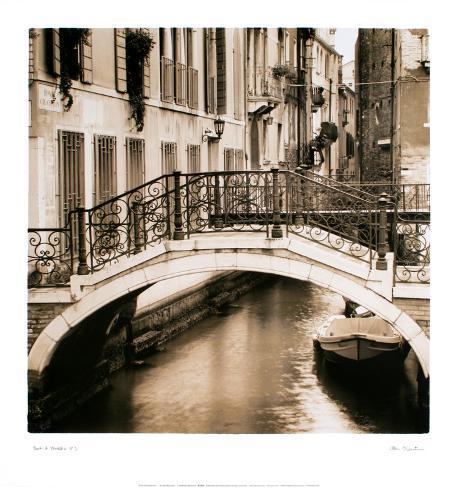 Ponti di Venezia I Art Print