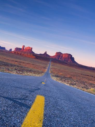Arizona-Utah, Monument Valley, USA Photographic Print