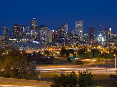 Colorado, Denver, USA Photographic Print
