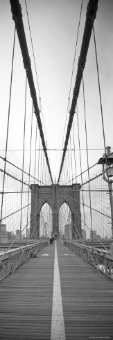 Manhattan and Brooklyn Bridge, New York City, USA Photographic Print