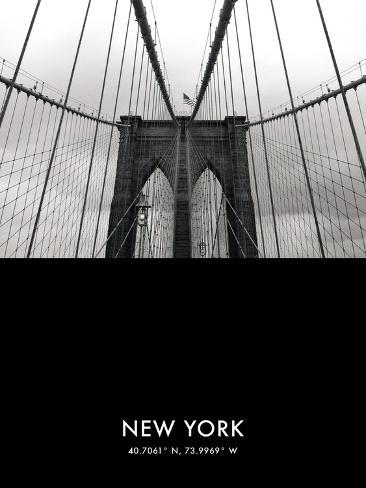 NYC Focus - Bridge Giclee Print