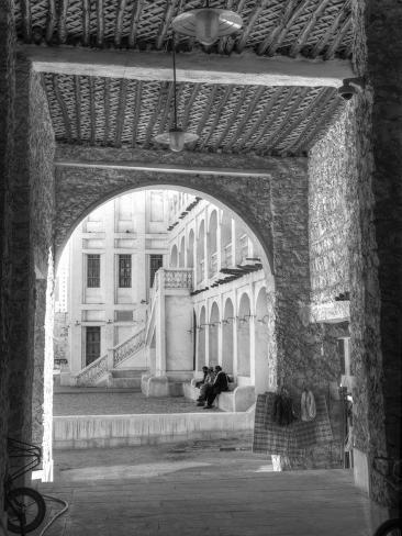 Qatar, Doha, Souq Waqif Photographic Print