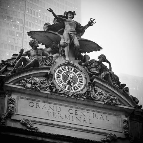 USA, New York City, Manhattan, Midtown, Grand Central Station Photographic Print