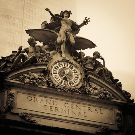 USA, New York City, Manhattan, Midtown, Grand Central Station Photographic Print