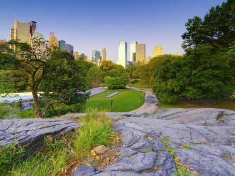 USA, New York, Manhattan, Central Park Photographic Print