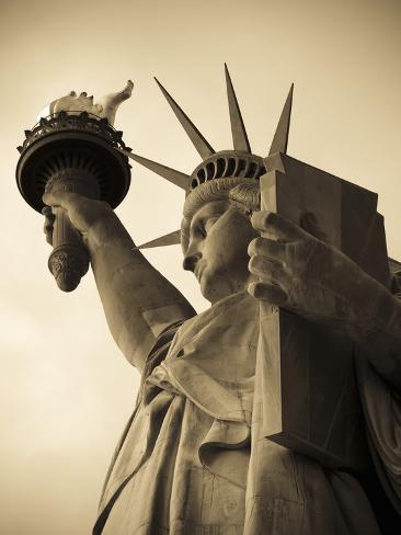 USA, New York, Statue of Liberty Photographic Print
