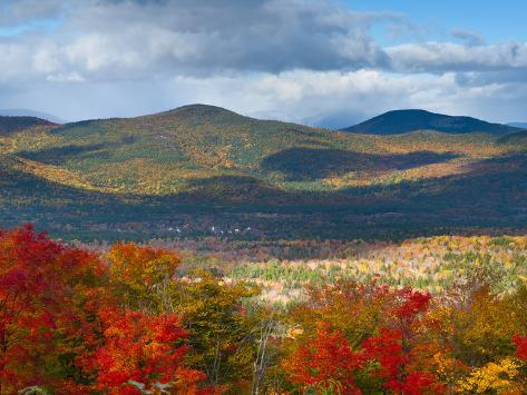 White Mountains National Forest, New Hampshire, New England, USA, North America Photographic Print