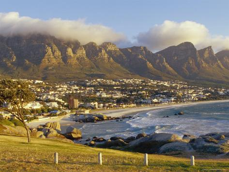 Twelve Apostles, Camps Bay, South Africa Photographic Print