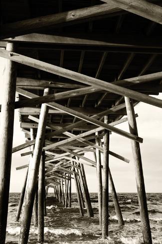 Atlantic Beach Pier 2 Photographic Print