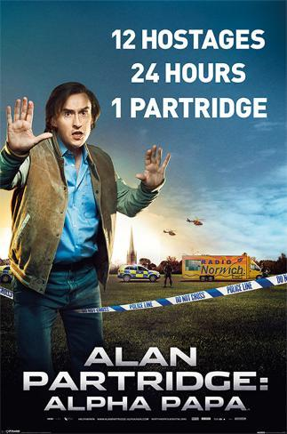 Alan Partridge - Alpha Papa Poster