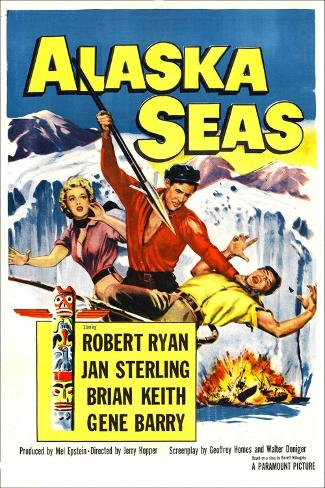 Alaska Seas Kunstdruk