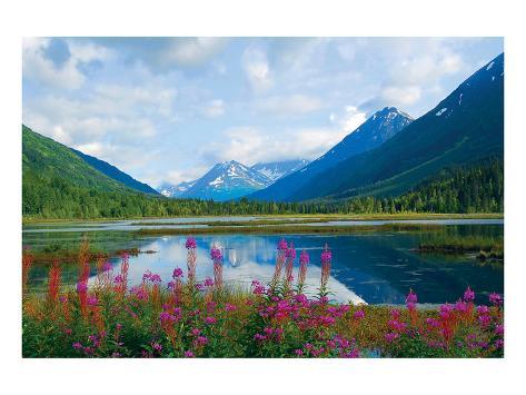 Alaska USA I Art Print