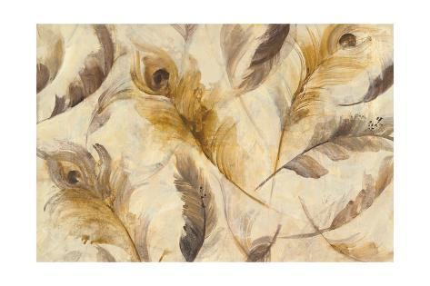 Feather Toss Art Print