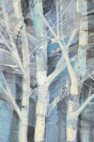 Winter Birches I Art Print