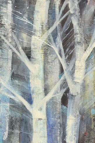 Winter Birches II Art Print