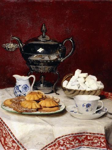 Still Life: Tasteful Tea, 1897 Giclée-vedos
